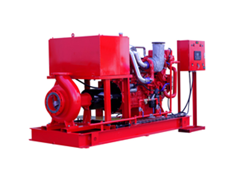 Permalink to End Suction Fire Pumps with Diesel Engine UL approved