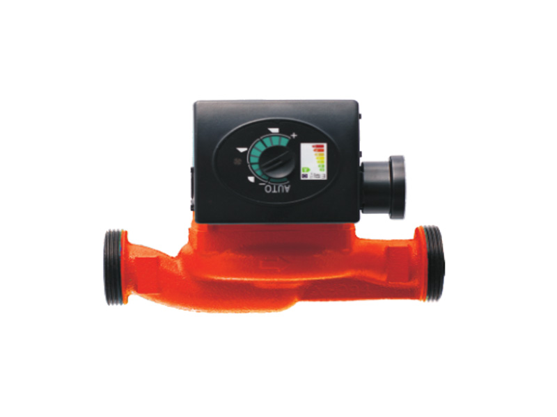 High efficiency single phase canned motor in-line pump