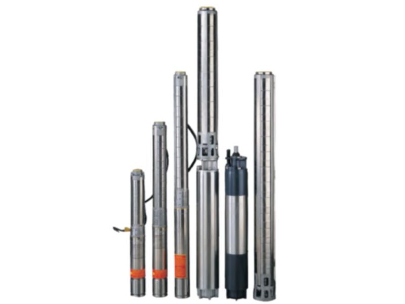 SB Series Stainless Steel Submersible Borehole Pump