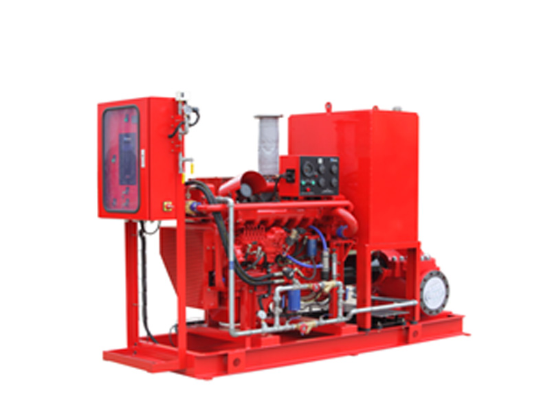 Permalink to Split case fire Pumps diesel engine set